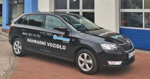 Náhradní vozidlo Škoda Rapid